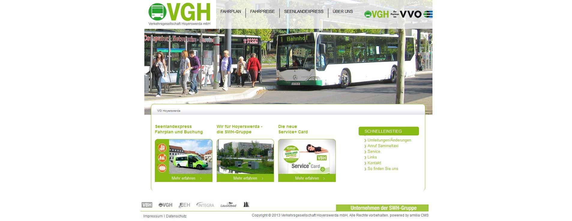 Verkehrsgesellschaft Hoyerswerda GmbH, Hoyerswerda
